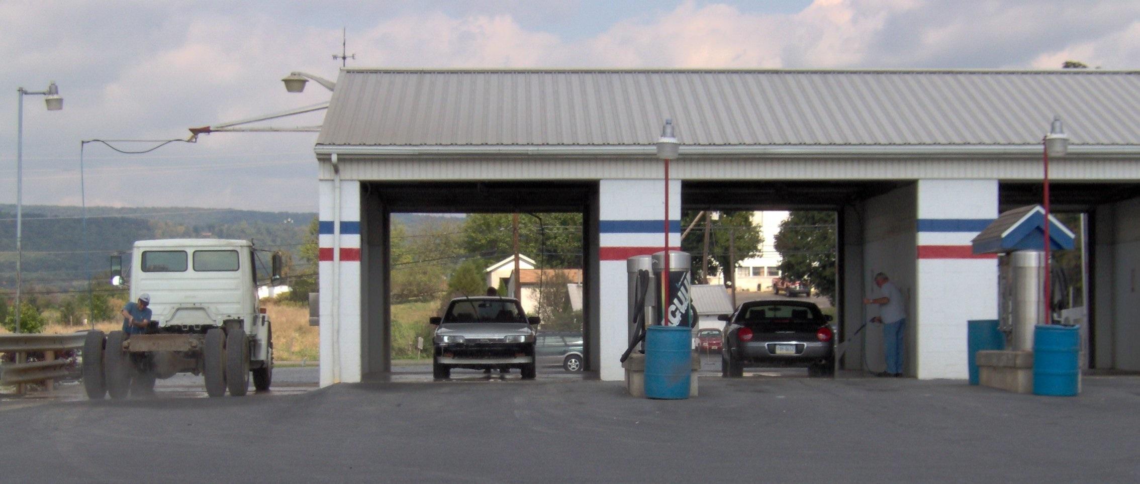 Car And Truck Wash Open 24 Hours D E Richard Garage Inc In Fredericksburg Pa 17026
